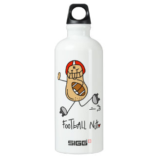 Football Nut T-shirts and Aluminum Water Bottle