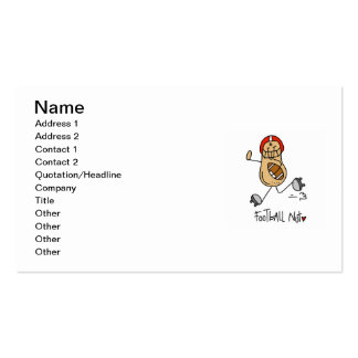 Football Nut T-shirts and Gifts Double-Sided Standard Business Cards (Pack Of 100)