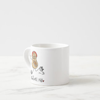 Football Nut T-shirts and Gifts Espresso Cup