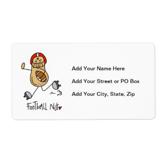 Football Nut T-shirts and Gifts Label