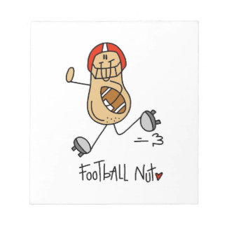 Football Nut T-shirts and Gifts Note Pad