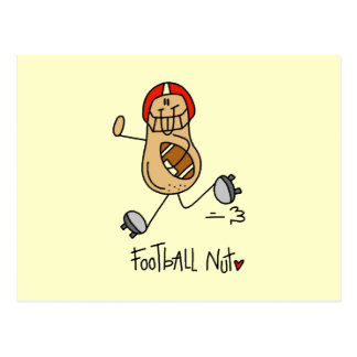 Football Nut T-shirts and Gifts Postcard