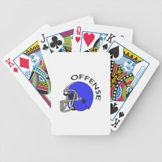 FOOTBALL OFFENSE BICYCLE PLAYING CARDS