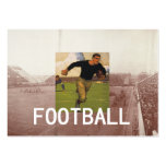 Football Old School Business Card Template