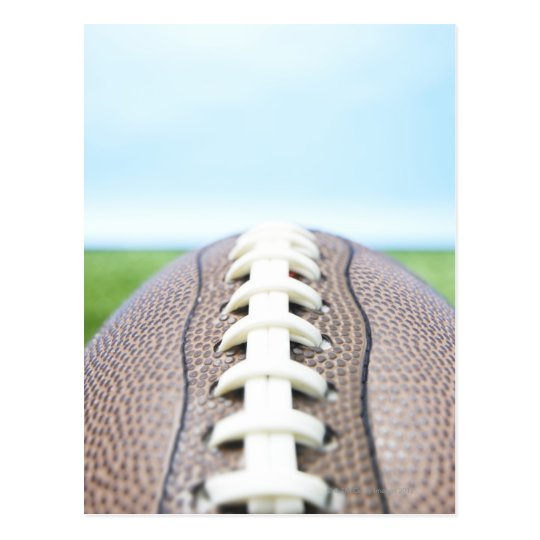 Football on Grass 2 Postcard