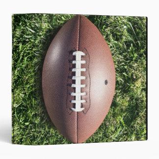 Football on Grass 3 Ring Binder