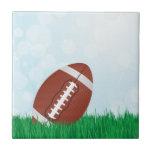 football on grass tiles