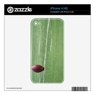 Football on Tee Decal For iPhone 4