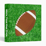 Football On The Lawn Binder