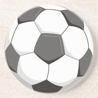 Football or Soccer ball Drink Coaster