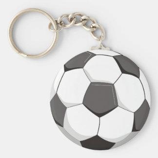 Football or Soccer ball Key Chains
