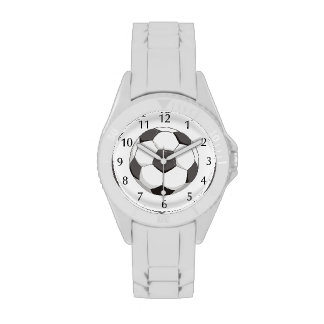Football or Soccer ball sports Watches