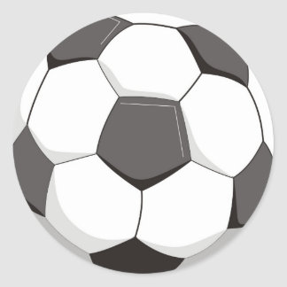 Football or Soccer ball Sticker