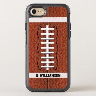 Football OtterBox Symmetry iPhone 7 Case