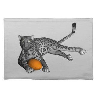 Football Panther Cloth Placemat