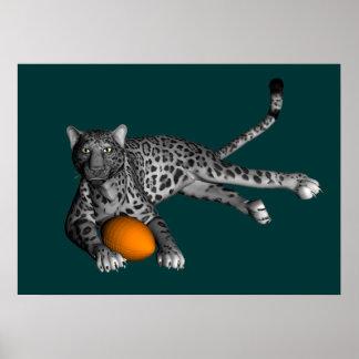 Football Panther Poster
