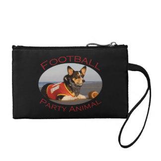 Football Party Animal Coin Purse