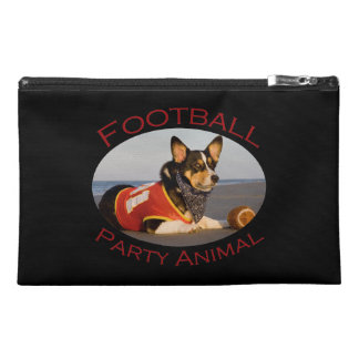 Football Party Animal Travel Accessory Bag