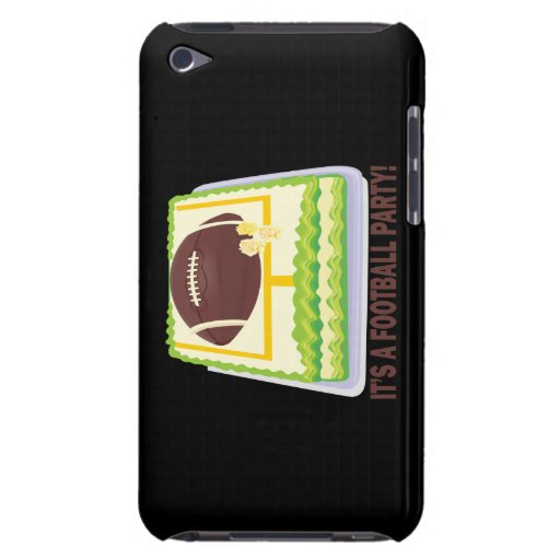 Football Party Barely There iPod Cover