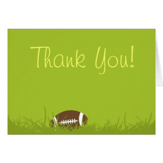 football party invitae, Thank You! Greeting Cards