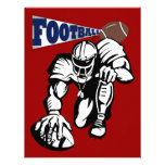 Football Party Red, White, and Blue by SRF Custom Invites