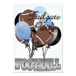"Football Party Tailgate Invitation by SRF 5"" X 7"" Invitation Card"