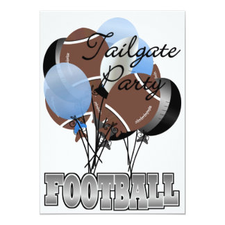 Football Party Tailgate Invitation by SRF