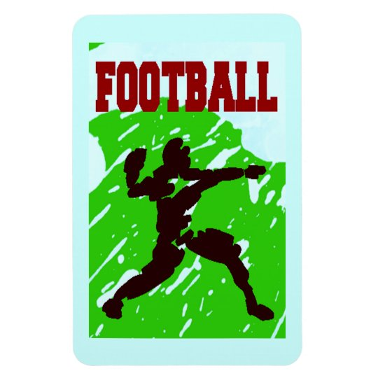 FOOTBALL PASS Magnet