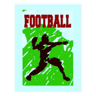 FOOTBALL PASS POST CARDS