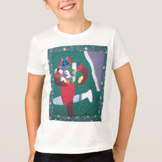 Football{ Patchwork T-Shirt