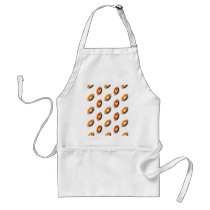 Football Pattern Adult Apron