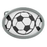 Football pattern belt buckle