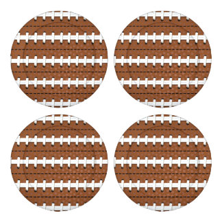 Football Pattern Button Covers