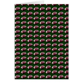 football pattern card
