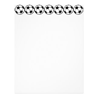 Football pattern flyer