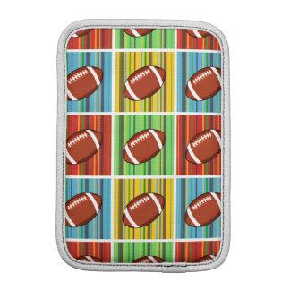 Football Pattern iPad Mini Sleeves