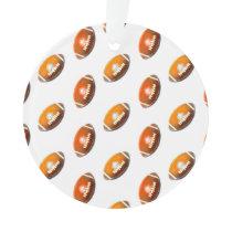 Football Pattern Ornament