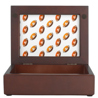 Football Pattern Memory Boxes