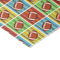 Football Pattern Tissue Paper