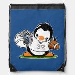 Football Penguin Backpacks