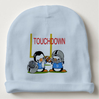 Football Penguins Baby Beanie