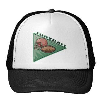 Football Pennant Mesh Hats