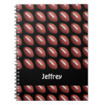 Football Personalized Notebook