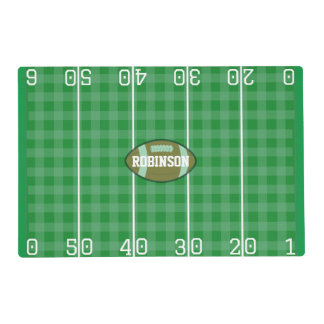 Football Personalized Placemat