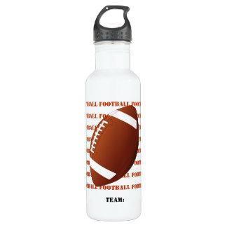 Football 24oz Water Bottle