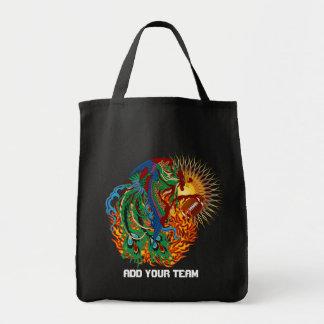 """Football Phoenix Bird """"Rise Again!"""" Think you can? Canvas Bags"""