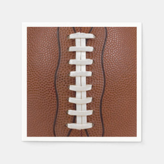 Football Photo Design Party Big Game Standard Cocktail Napkin
