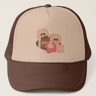 Football Pig Trucker Hat