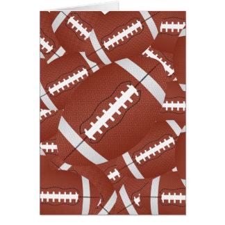 football pile card
