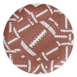 football pile plate
